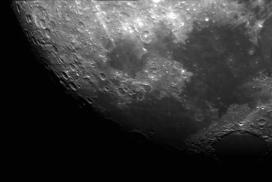 Luna- 18-09-2016 Telescopio C11HD;F:10; Cámara ASI174MM-C; 1 vídeo de 60¨; Procesado: AutoStakkert y Registax.