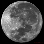 Luna Llena-Fecha: 14-11-16 Telescopio C11HD; F:10; Cámara ASI174MM-C; Mosaico de 8 vídeos de 60¨;