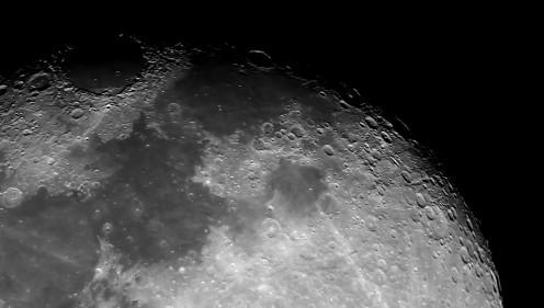 Mosaico Luna- 30-10-2015 Telescopio C11HD; F:10; Cámara Canon 1100D; 2 vídeos de 60¨; Procesado: AutoStakkert y Registax.