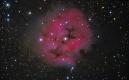 C19-Neb. del Capullo Fecha :13-10-16 Telescopio C11HD; F:10 ;Cámara ASI174MM-C;  R=5x300¨;G=5x300¨;B=5x300¨;Dark=10 x 300 Procesado: PixInsigth