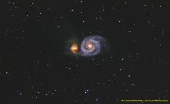 M 51- Galaxia del Remolino-21-04-18-Juan Martinez Sánchez-