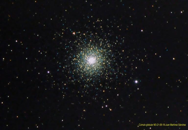 Cúmulo globular-M3-21-06-18-Juan Martínez Sánchez