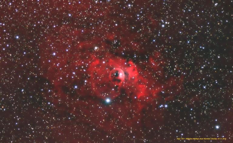 NGC 7635-Nebulosa Burbuja-Juan Martínez Sánchez-28-11-2018-Text